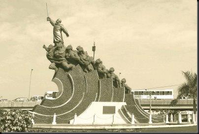 monumento original - Alfredo Palacio