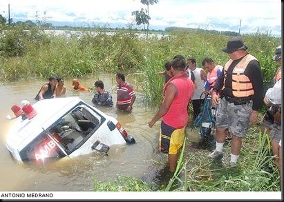 ambulancia inundaciones