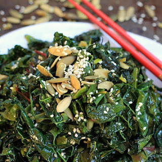 Seriously Addictive Spicy Kale & Swiss Chard Saute + The Migraine Relief Plan.