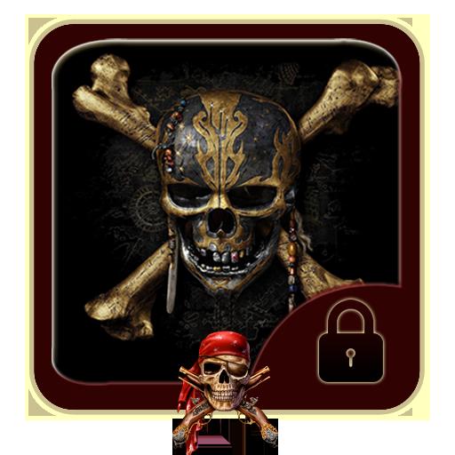 Pirates black skull theme