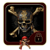 Pirates black skull theme