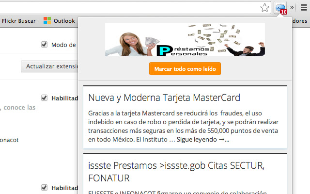 Fonacot.net (Notificador)