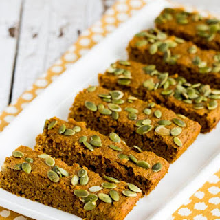 Low-Sugar Pumpkin Bars