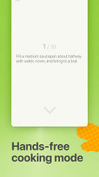 Mealime - Meal Planner, Recipes & Grocery List APK screenshot thumbnail 5