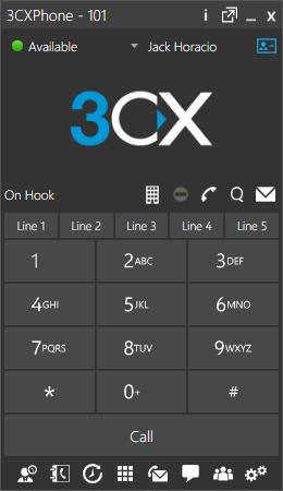 Softphone 3CX