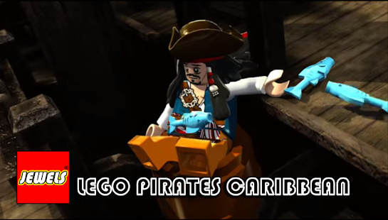 Jewels Of LEGO Pirates Caribb Batle - náhled