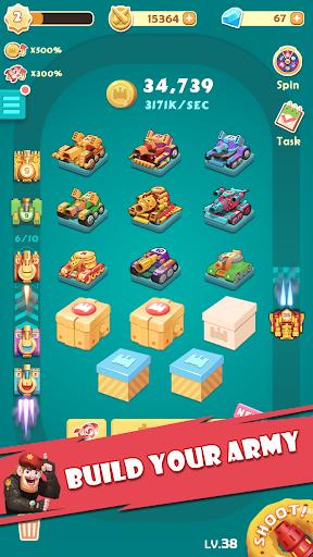Candy Tank Hero - Merge&Idle Game apktram screenshots 6