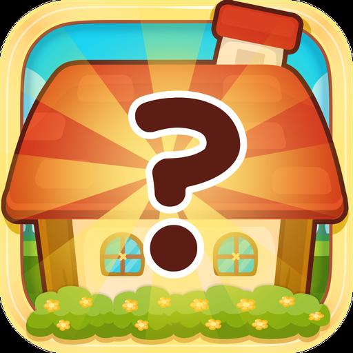 ハッピーペットハウス:記憶力ゲーム 解謎 LOGO-玩APPs