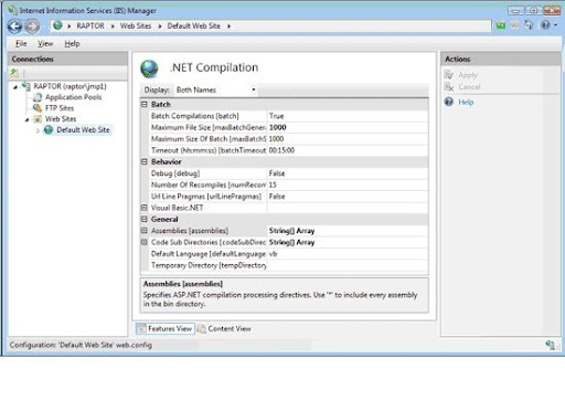 IIS 7 0 New features at CodeKicks com - Focus on Microsoft Technologies