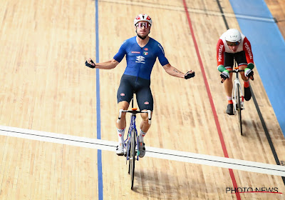 Ook Elia Viviani gaat toch nog met wereldtitel naar huis na WK baanwielrennen, Belg vijfde in afvallingskoers