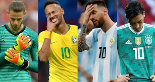 Muchas caras largas tras el Mundial.
