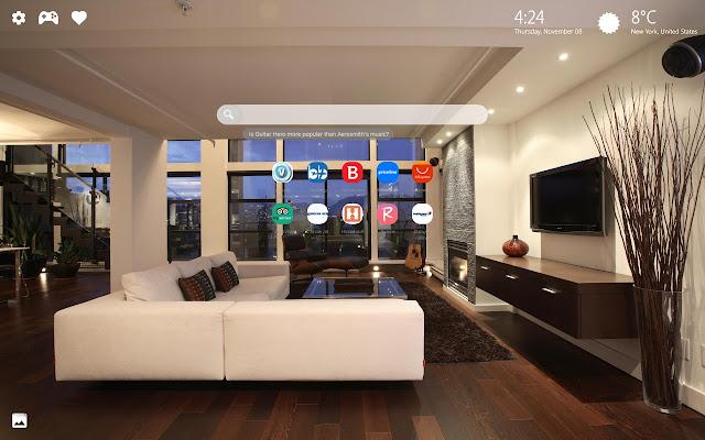 Modern Interior Design Wallpaper New Tab