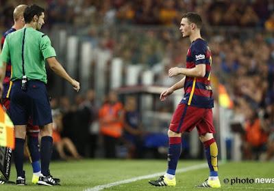 Vermaelen ne s'inquiète pas de son statut de remplaçant au Barça