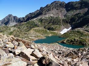 Photo: Si continua a salire: dovrebbe essere il Lac du Milieu, 2510m.