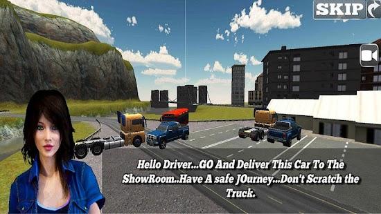 Real Car Transporter Truck Sim screenshot