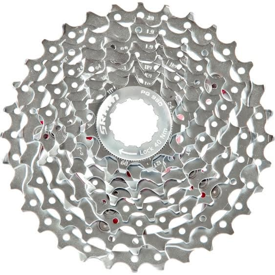 Sram Pg-950 9speed 11-32t Cassette Use Shimano Hub Easy To Repair Cassettes, Freewheels & Cogs