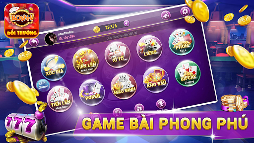 BomH Game Bai Doi Thuong - Ban Ca Online 6.0.5 screenshots 4
