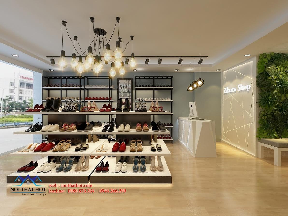 thiết kế shop giày dép chuyên nghiệp