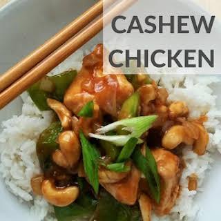 Chinese Cashew Chicken.