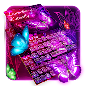 Luminous butterfly keyboard