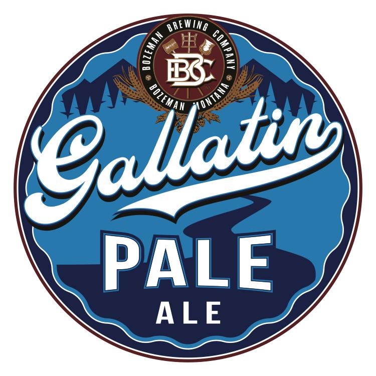 Logo of Bozeman Brewing Co. Gallatin Pale Ale