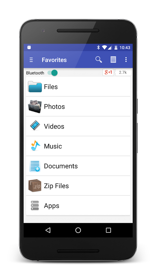 Bluetooth File Share- screenshot