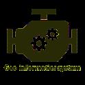 Geo informatics system (GIS) icon