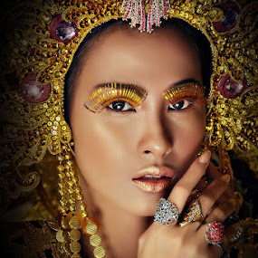 empress by Allan Manalac - People Portraits of Women