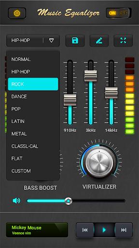 equalizer - music bass booster screenshot 2