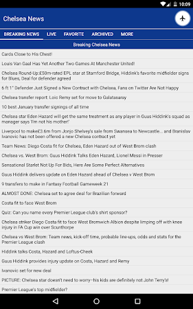 Latest Chelsea News & Transfer 5.6 screenshot 978524