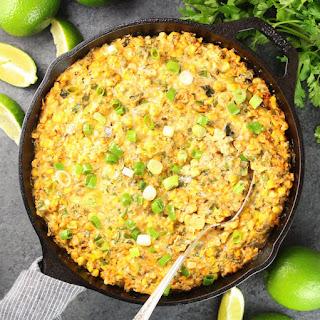 Smoky Poblano Corn Dip Recipe
