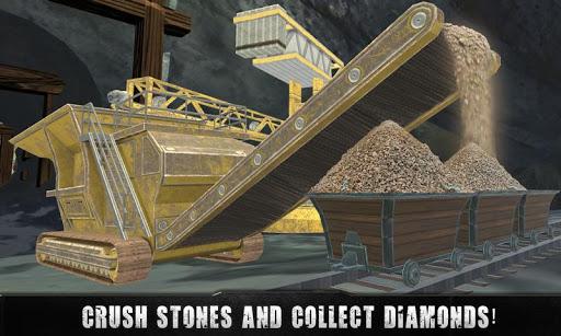 石采矿运输卡车司机