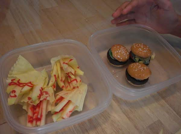 Faux French Fries With Ketchup