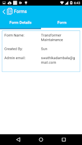 Forms screenshot 1