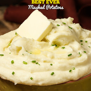 Best Ever Mashed Potatoes.