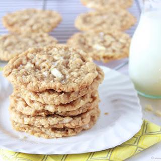 Lemon Coconut White Chocolate Chunk Cookies