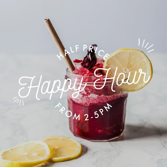 Half Price Happy Hour - Instagram Post Template