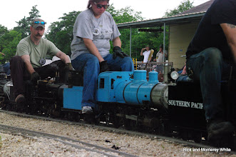Photo: Kari Wirth on Simpson 2-6-0.  HALS-SLWS 2009-0523