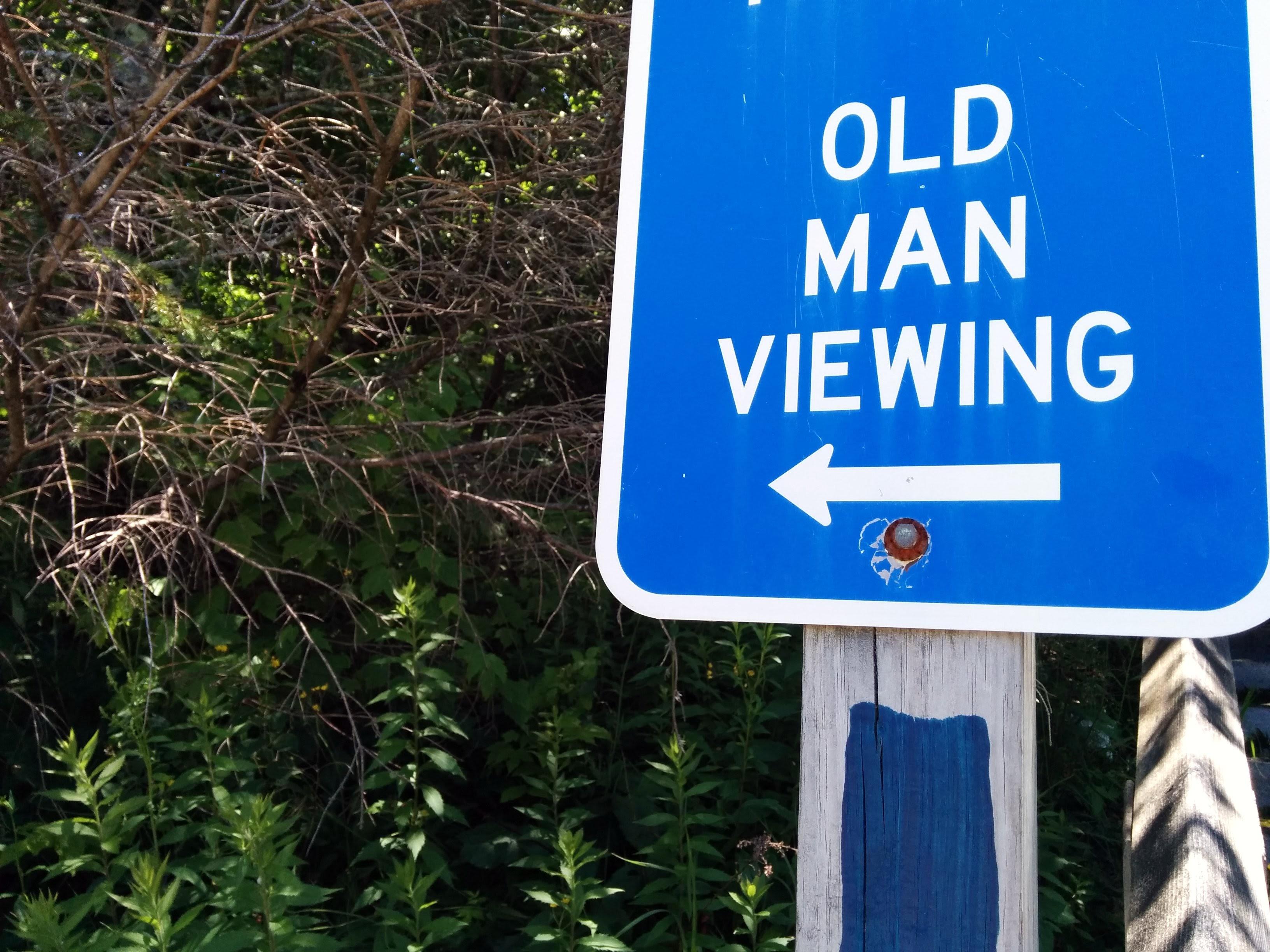 Photo: Wanna go see an old man?