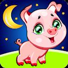 Nursery Rhymes Songs & Kids Puzzle Games Free icon