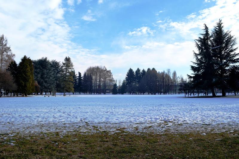 Parco innevato di Samyna