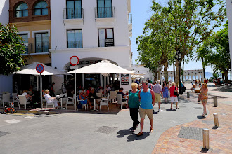 Photo: Plaza Cavana in the centre of Nerja