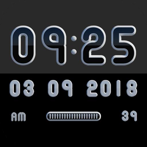 MONOO Digital Clock Widget