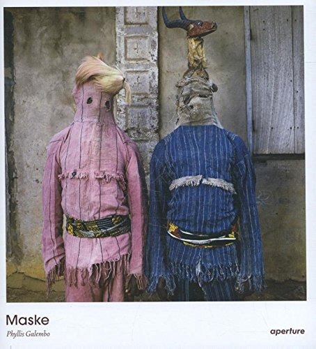 The cover of 'Maske' by Phyllis Galembo.