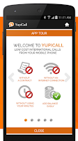 Screenshot of YupiCall