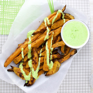 Sweet Potato Wasabi-Pea Dip Recipe