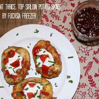 Top Sirloin Potato Skins.
