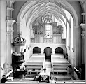 Photo: Biserica Reformata din Turda -Noua - 1970 -   imagini vechi https://imaginivechi.files.wordpress.com/2010/06/158-bis-reformata-interior-per-postbelica.jpg