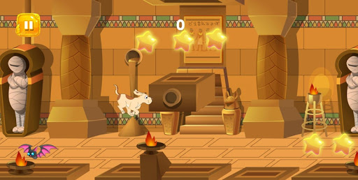 Dog Rush : Funny Dog running in ancient Egypt  captures d'écran 1