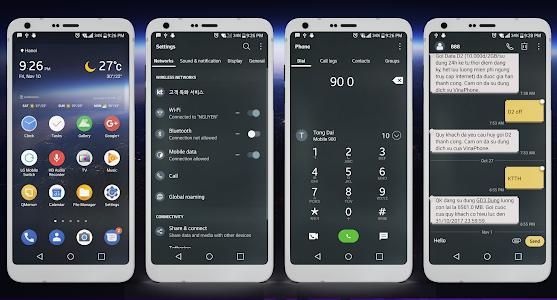 Theme Android Oreo Dark LG G6 G5 V20 V30 1 1 APK for Android